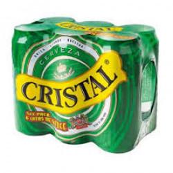 Pack 6 u Cerveza Cristal en...