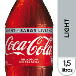 Bebida Coca Cola 1,5 lt Light