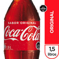 Bebida Coca Cola 1,5 lt...