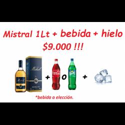 Pisco Mistral 35° 1 lt +...