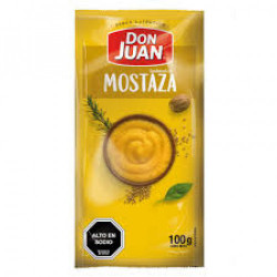 Mostaza 100 g Don Juan