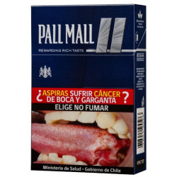 Cigarrillos Pall Mall Gris,...