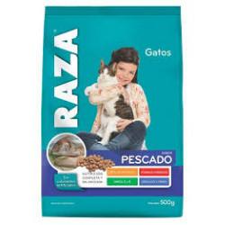 Alimento Gato 500g RAZA