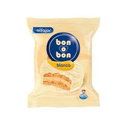 Alfajor Bon o Bon blanco 40g