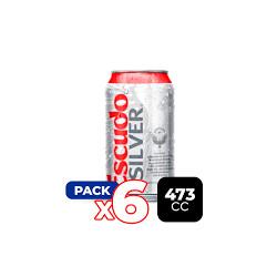 Pack 6u Cerveza Escudo...