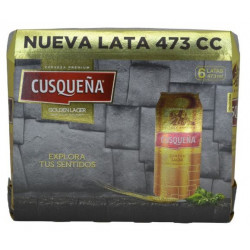 Pack 6u Cerveza Cusqueña...