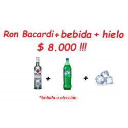 Ron Bacardi Blanco 750 cc +...
