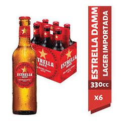 Pack cerveza estrella damm...