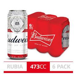 Pacck 6 u Budweiser lata...