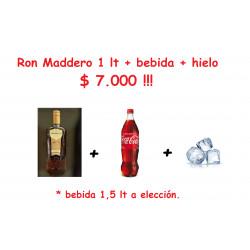 Promo Ron Maddero 1lt +...