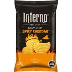 Papas Fritas Spicy Cheddar...