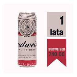 Lata Budweiser 740 cc