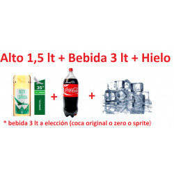 Promo Alto 1,5 + bebida 3...